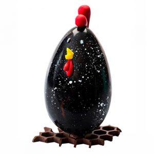 Poules en chocolat, Patrick Roger, 45 euros